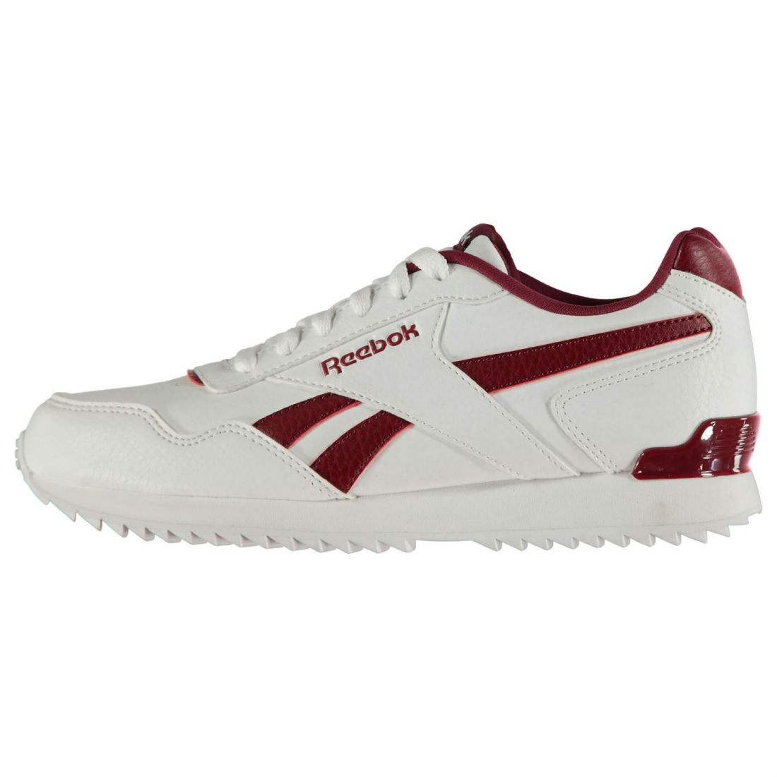 Reebok Royal Glide Sneakers Youngster Boys Classic Laces Fastened Padded Ankle