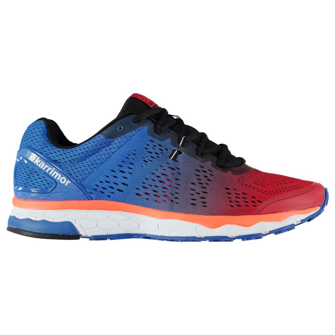 Karrimor Mens Tempo 5 Support Road Running Shoes Trainers Lace Up Breathable