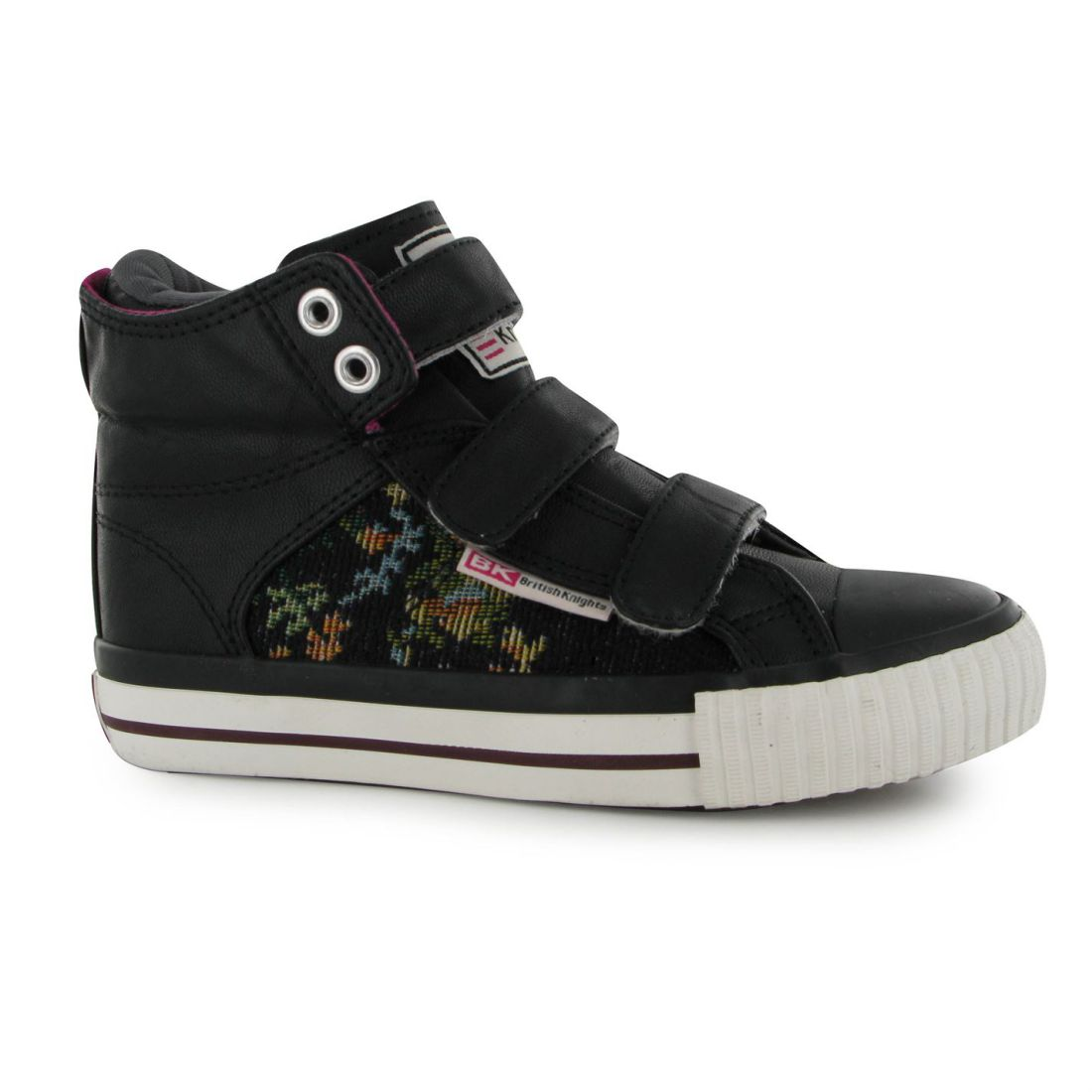 British Knights Roco Mid Top Trainers Pumps Running Sneakers Kids
