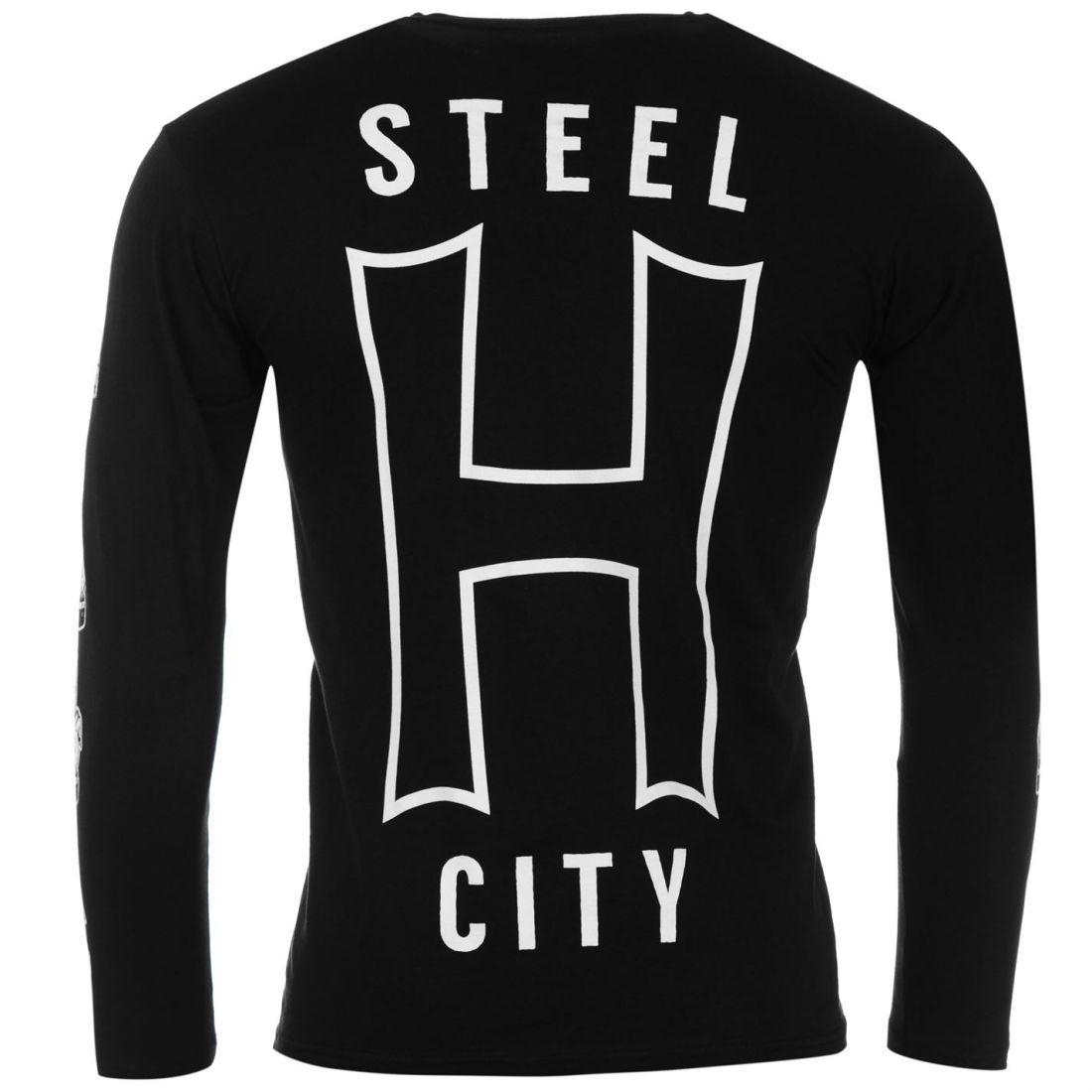 Officiel Homme Gents Me The Horizon BMTH T-shirt Tee Top à manches longues Vêtements