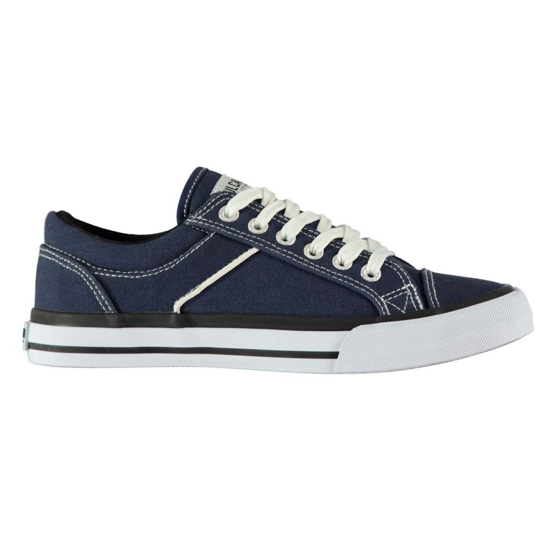 Womens SoulCal Asti Canvas Trainers Low Lace Up New