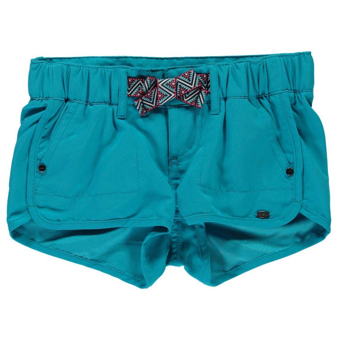 ONeill Kids Girls Chic Shorts Junior Board Pants Trousers Bottoms Lightweight