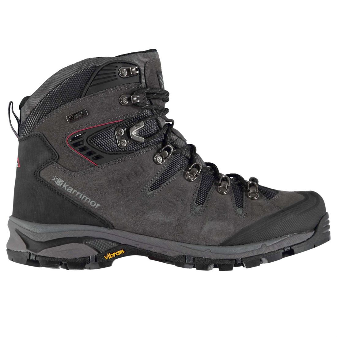 Karrimor Leopard Walking Boots Mens Gents Laces Fastened Ventilated Water