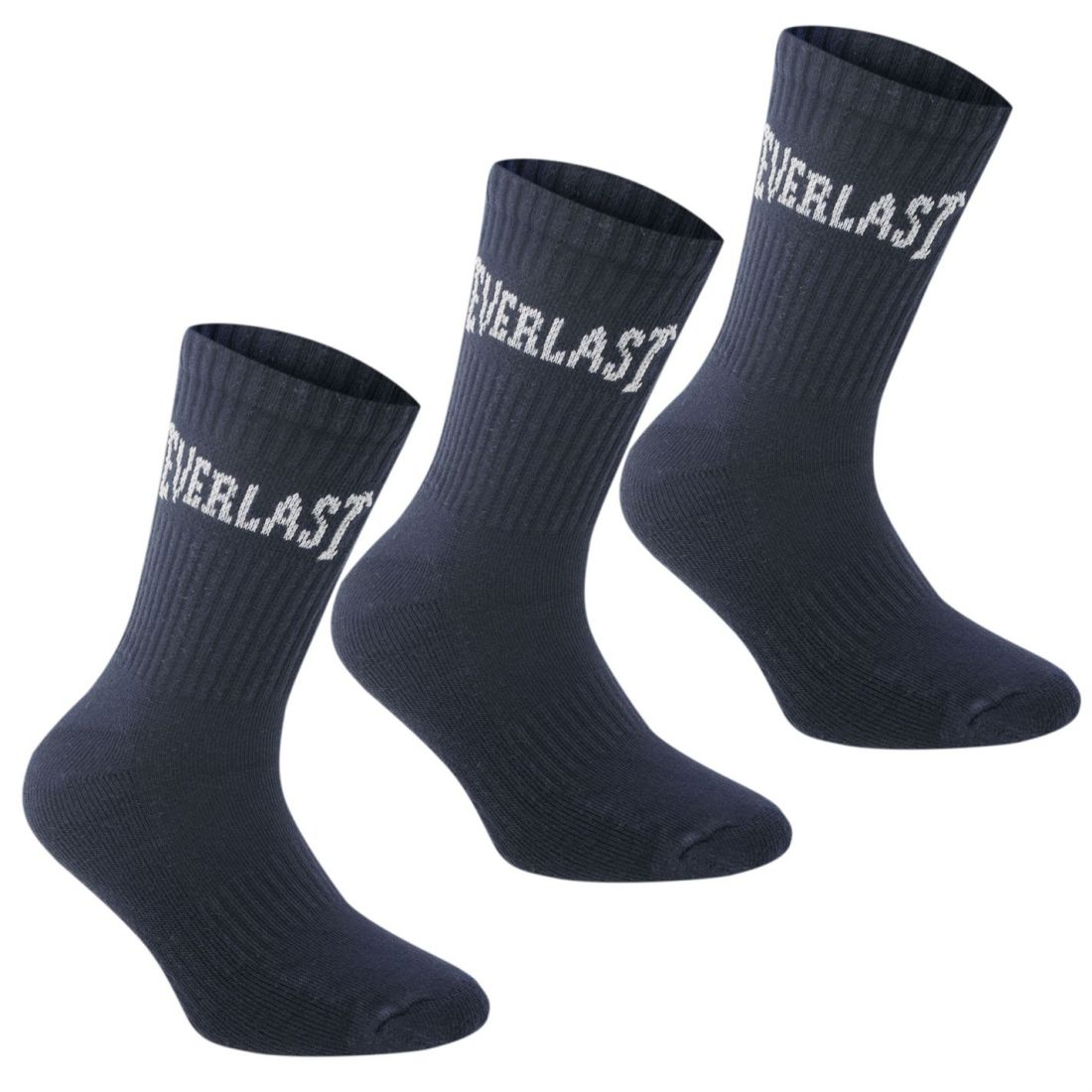 Everlast 3 Pack Crew Socks Youngster Childrens