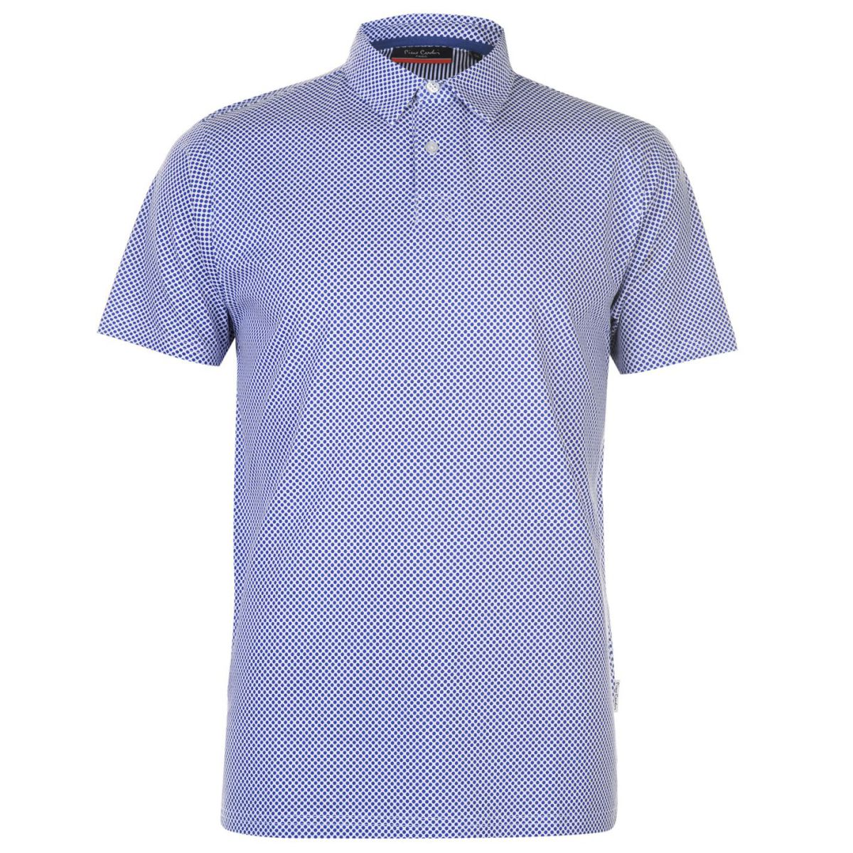 Pierre Cardin Stamp Polo Shirt Mens Gents Classic Fit Tee Top Short