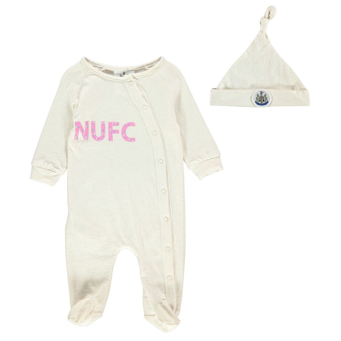 NUFC Sleepsuit Baby Girl Girls Rompers Sleep Suit Cotton Stamp