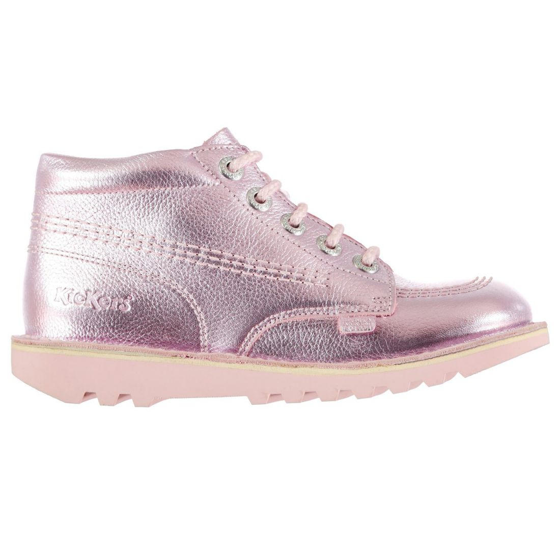Kickers Hi Ptl ChdCL99 Childrens Loafers