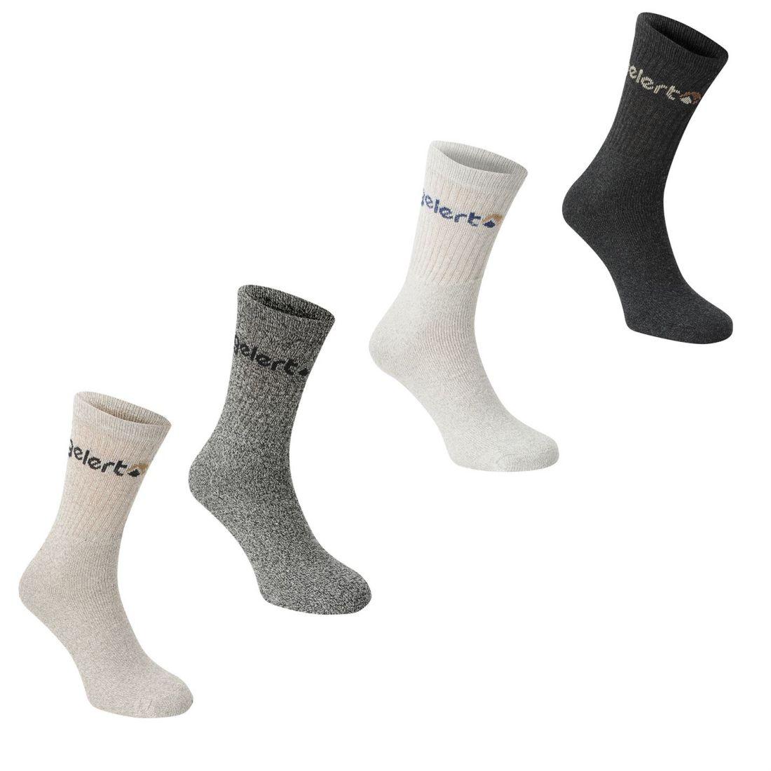 Gelert Walking Boot Sock 4 Pack Uomo Gents Calze Maglieria