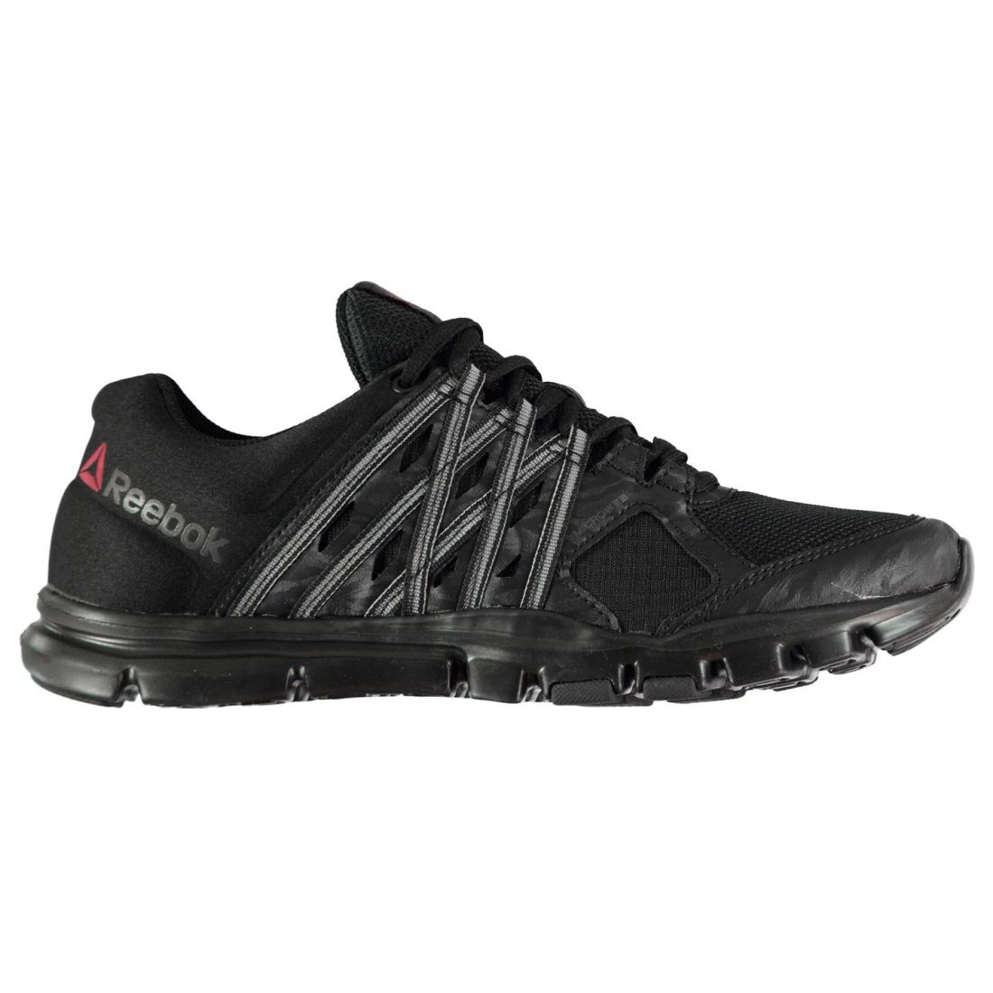 Reebok Gents Mens Yourflex 8 Sneakers Trainers Laced Textile Shoes Microweb