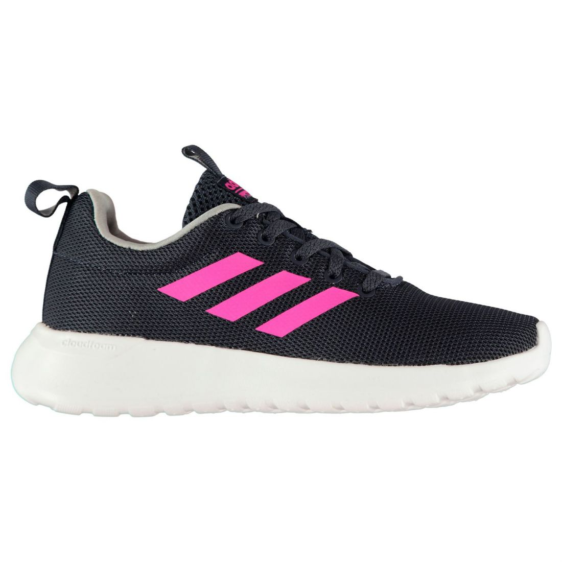 adidas Lite Racer Sneakers Youngster Girls Runners Laces Fastened Padded Ankle