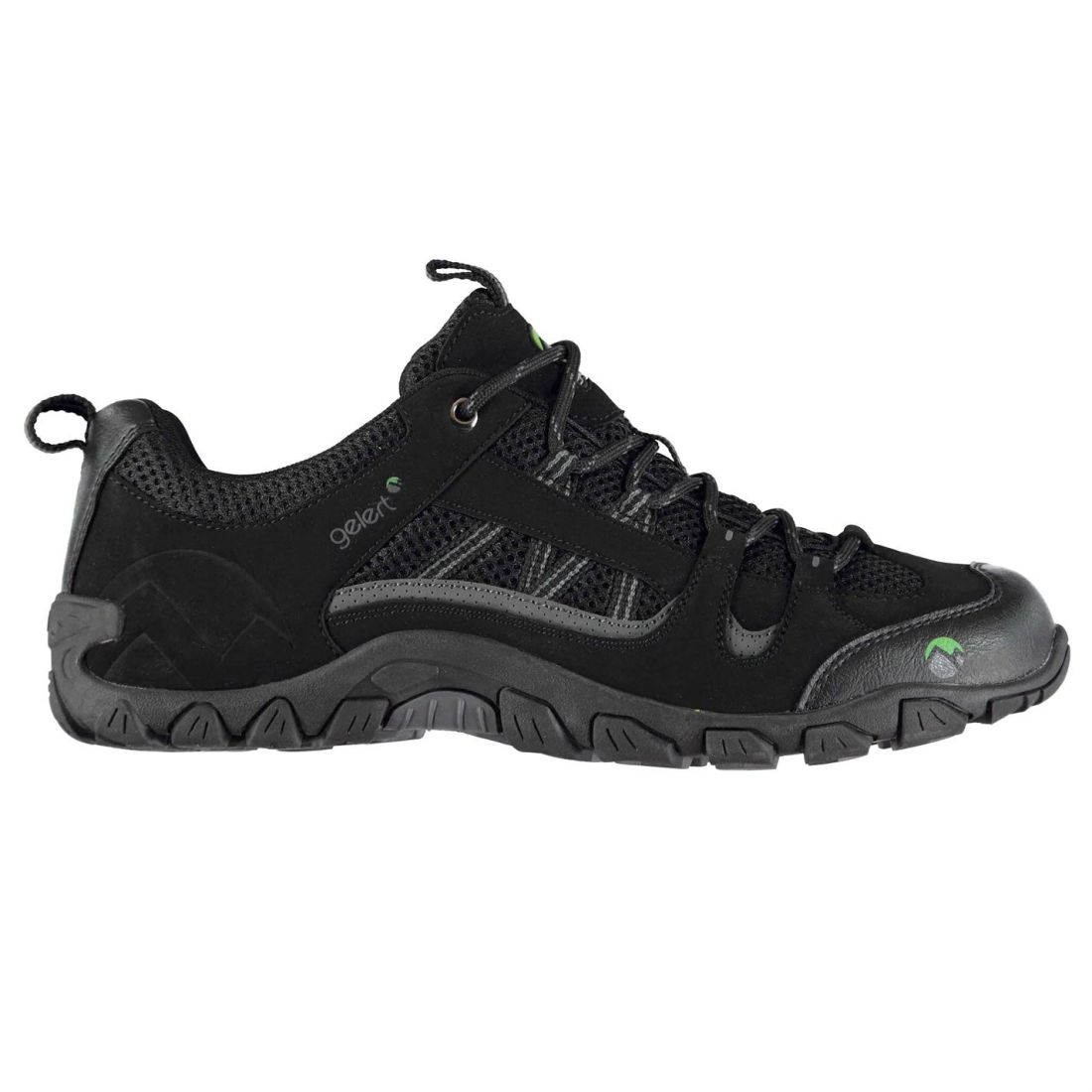 Gelert Rocky Walking Shoes Mens Gents Non Water Repellent Laces Fastened Padded