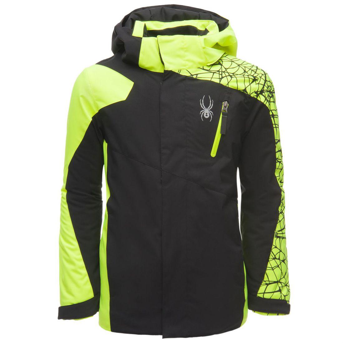 Spyder Kids Boys Guard Jkt Juniors Ski Jacket Coat Top