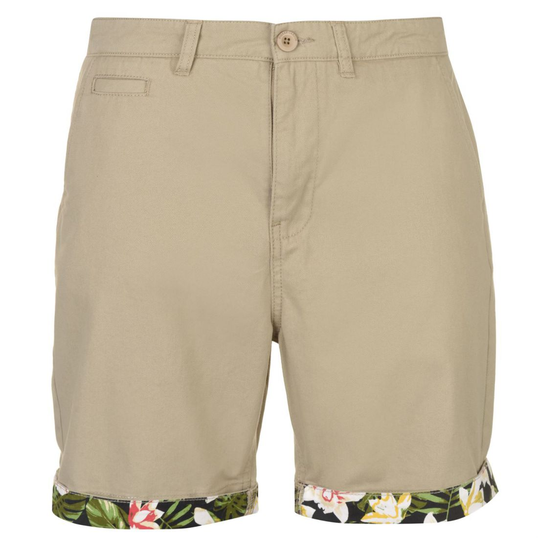 Pierre Cardin Homme AOP Turn Up Shorts Pantalon Chino Pantalon Pantalon Chino