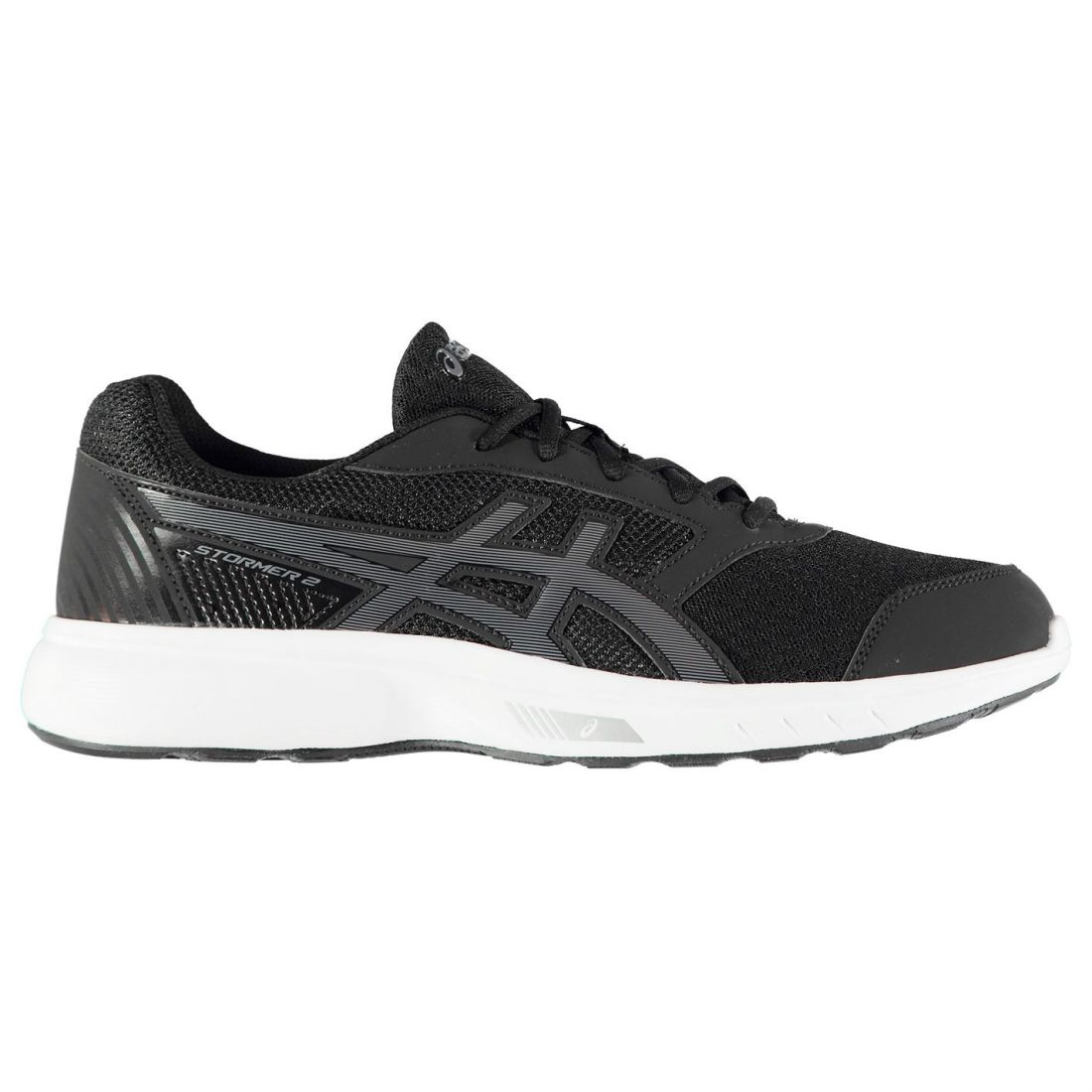 Asics Gel Stormer 2 Running Sneakers Mens Gents Nylon Runners Shoes Laces