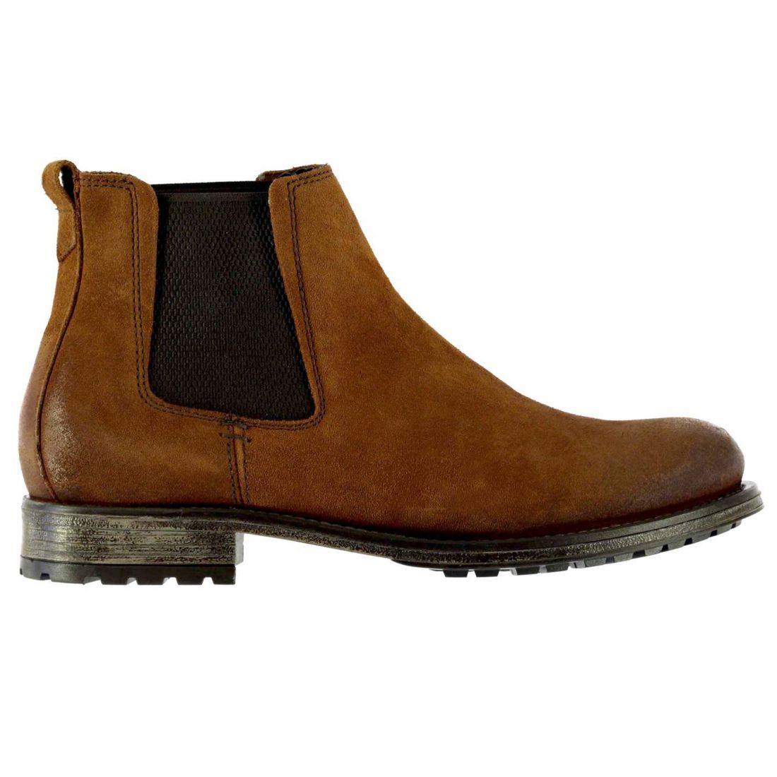 Firetrap Mens Gents Hex SD Chelsea Boots Shoes Footwear
