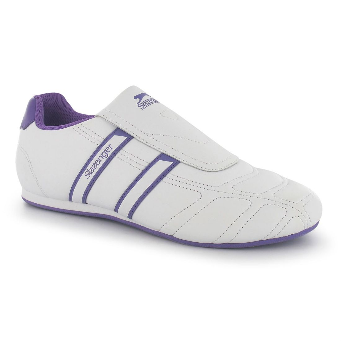 Slazenger Femme Guerrier Baskets Baskets Slip On Chaussures