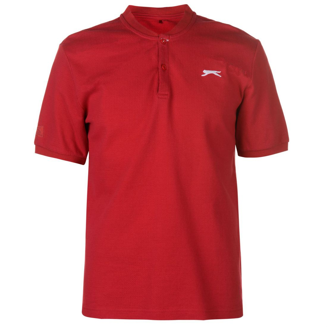 Slazenger Retro blockpolo Polo Uomo Gents Classic Fit Tee Top