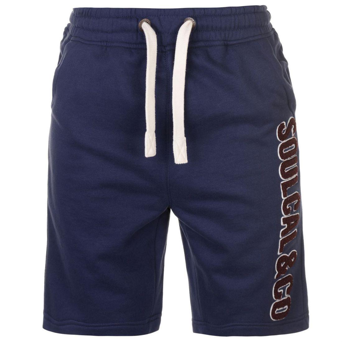 Soulcal Cal LL FLC Shirt Mens Gents Fleece Shorts Pantalon Pantalon