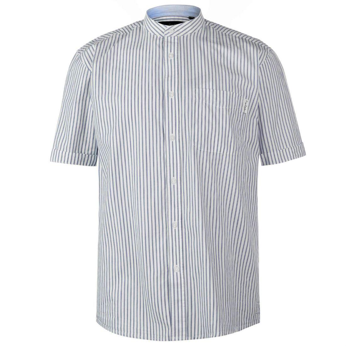 Pierre Cardin C bengl ST Sht Uomo Gents Manica Corta Camicia di tutti i giorni