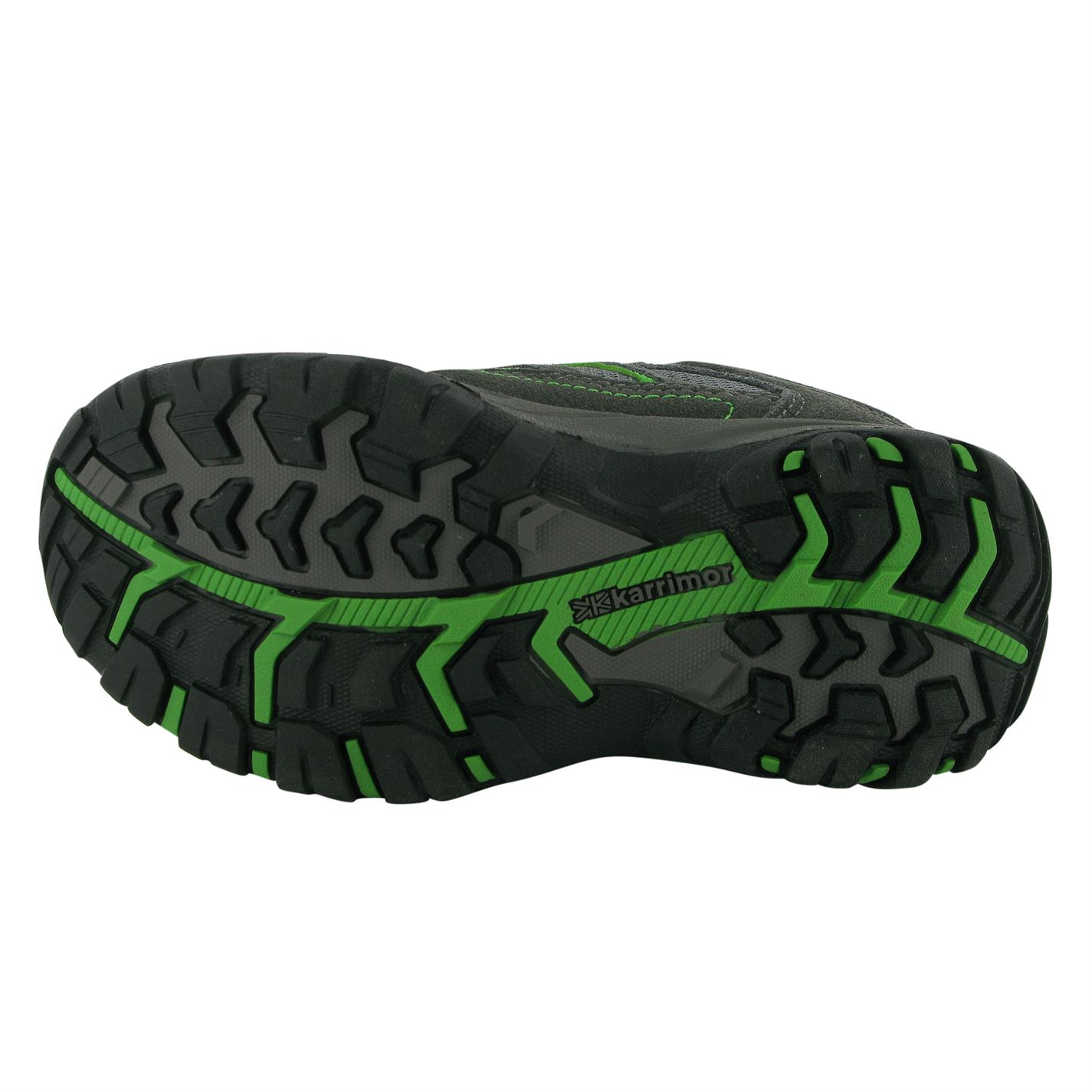 Karrimor Kids Mount Low Childrens Walking Shoes Boys Trekking Hiking Lace Up