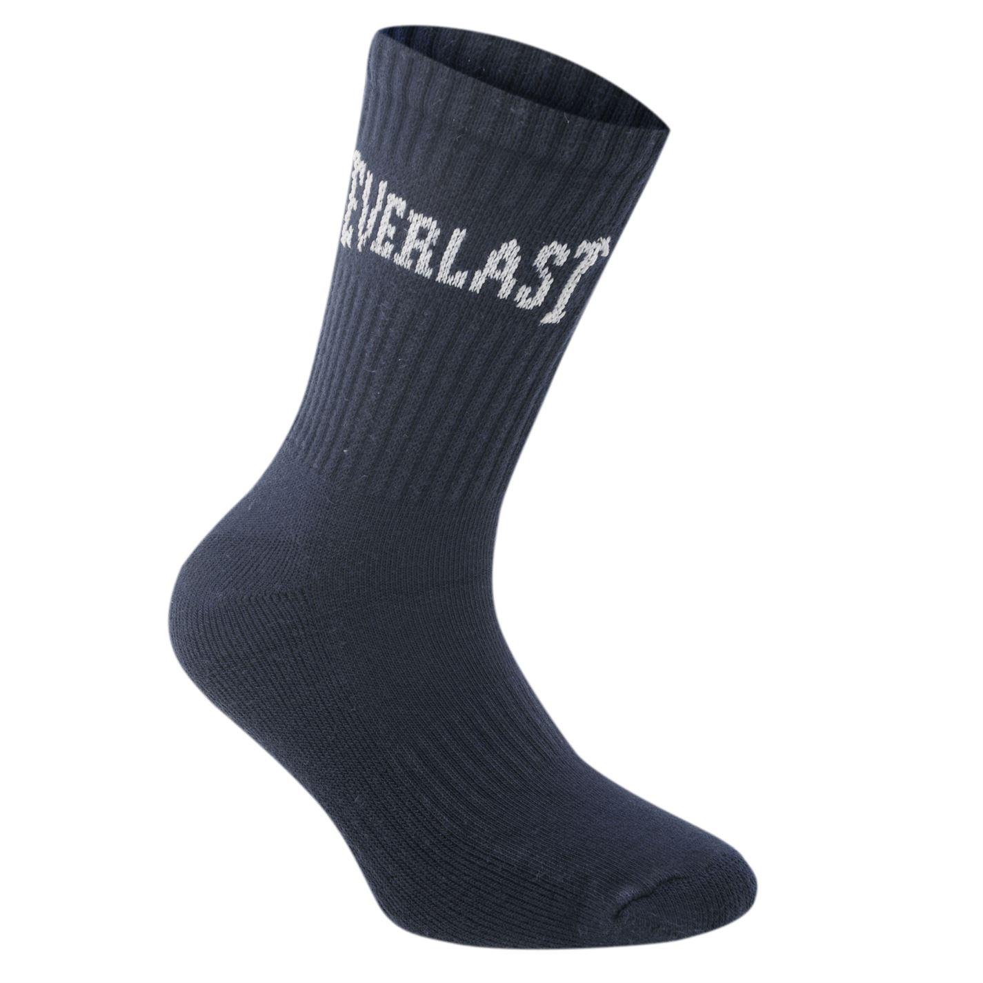 Everlast 3 Pack Crew Socks Ladies