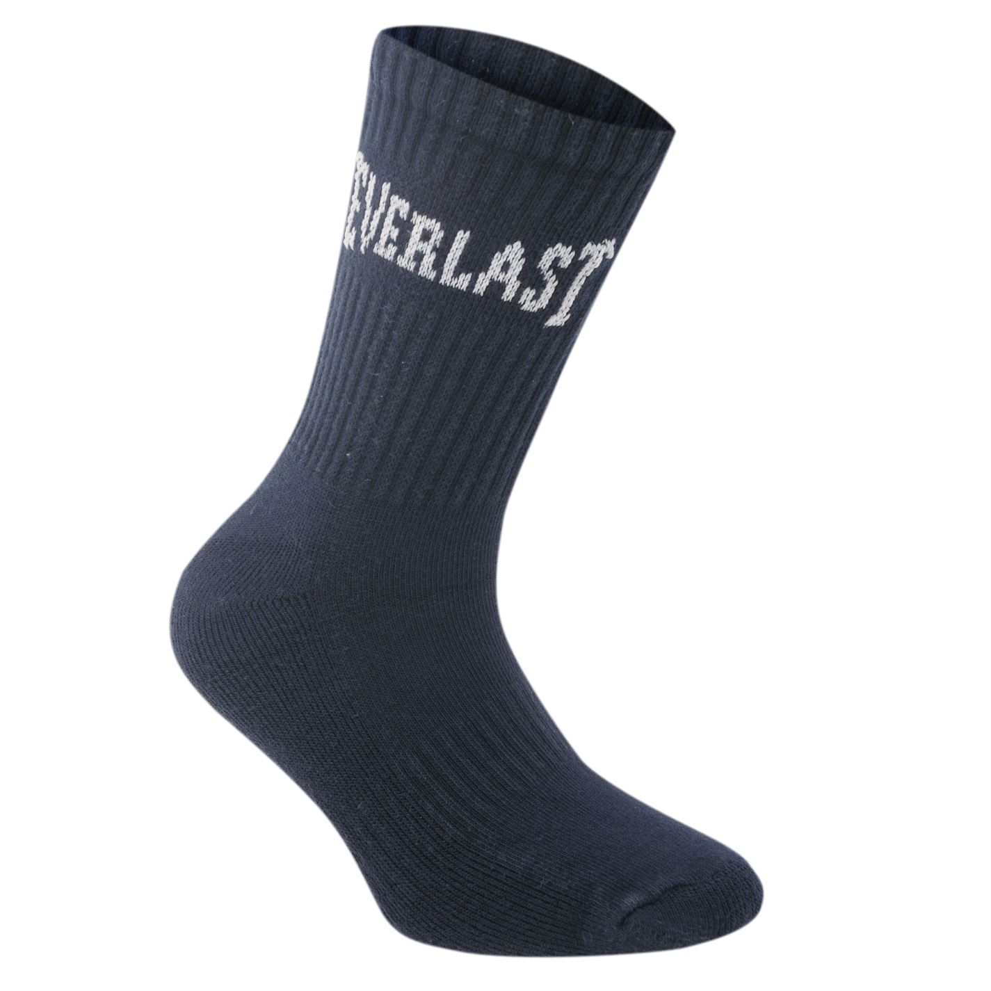 Everlast 3 Pack Crew Socks Uomo Gents