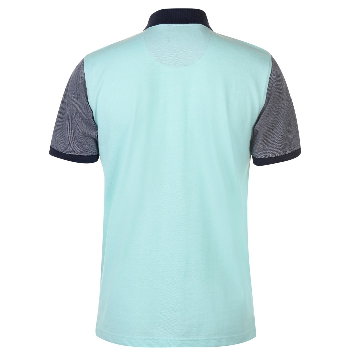 Pierre Cardin Contrast Collar Polo Shirt Mens Gents Classic Fit Tee Top