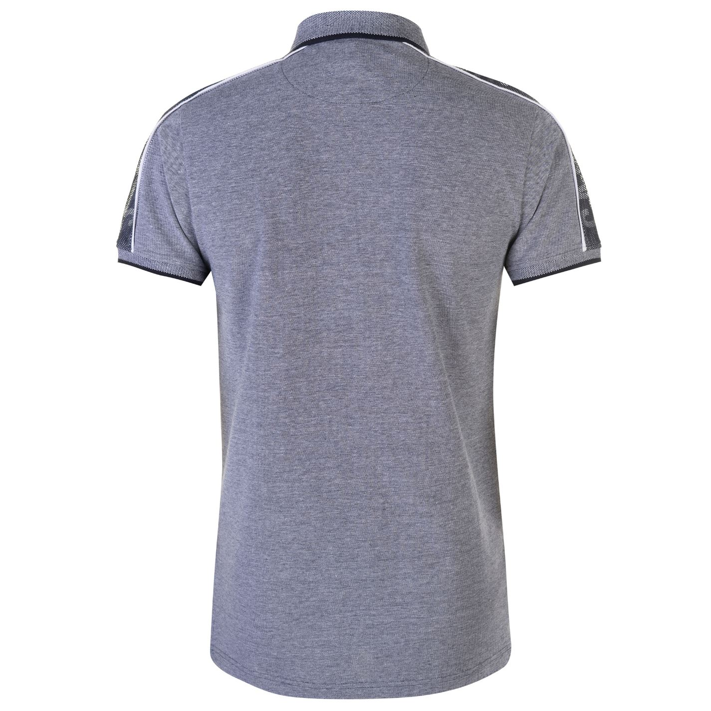 Mens SoulCal Birdseye Polo Shirt Slim Fit Short Sleeve New