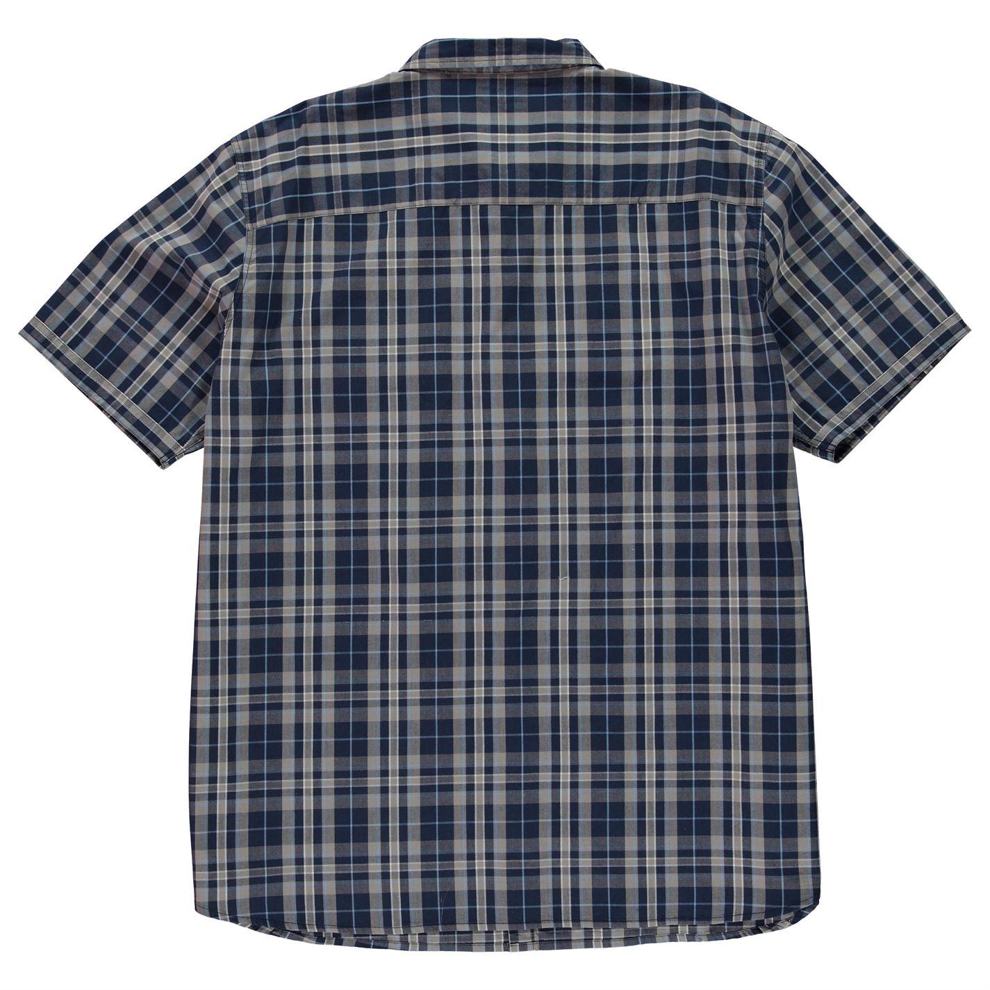 Firetrap Biscaglia S Uomo Gents Manica Corta Camicia di tutti i giorni