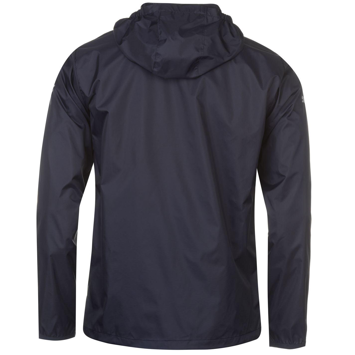 Puma Mens Essential Rain Jacket Coat Top Breathable Hooded Zip Full WindCell