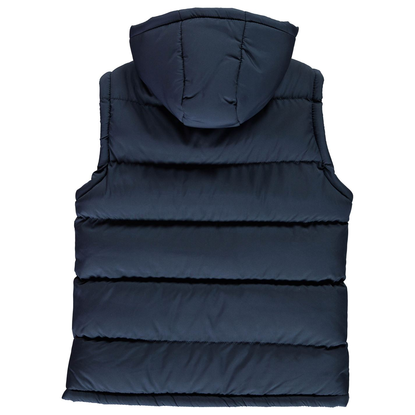 Lee Cooper Kids Boys 2 Zip Gilet Junior Sleeveless Jacket Hooded Full Print