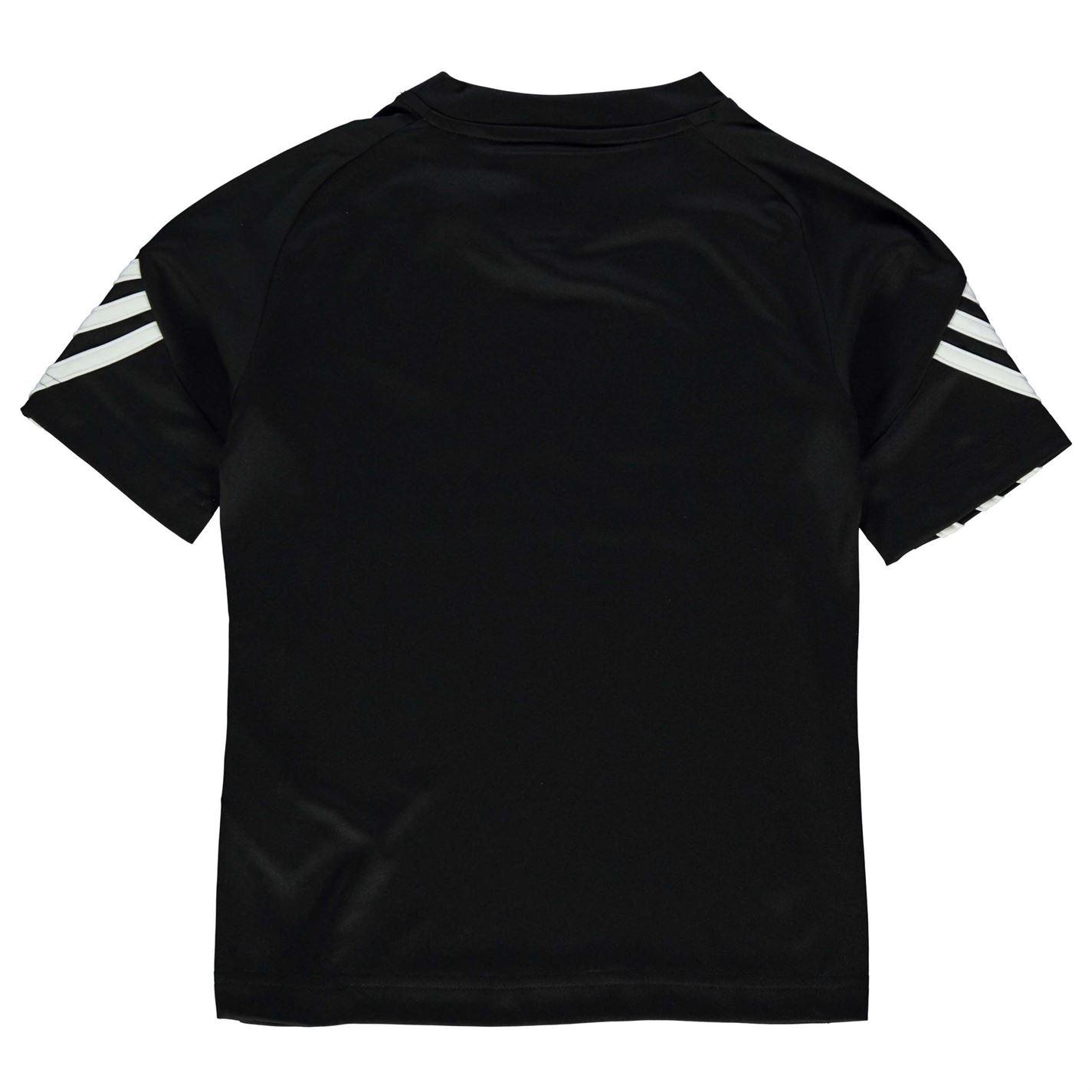ADIDAS Sereno T Shirt Youngster Ragazzi Manica Corta Performance Tee Top Girocollo