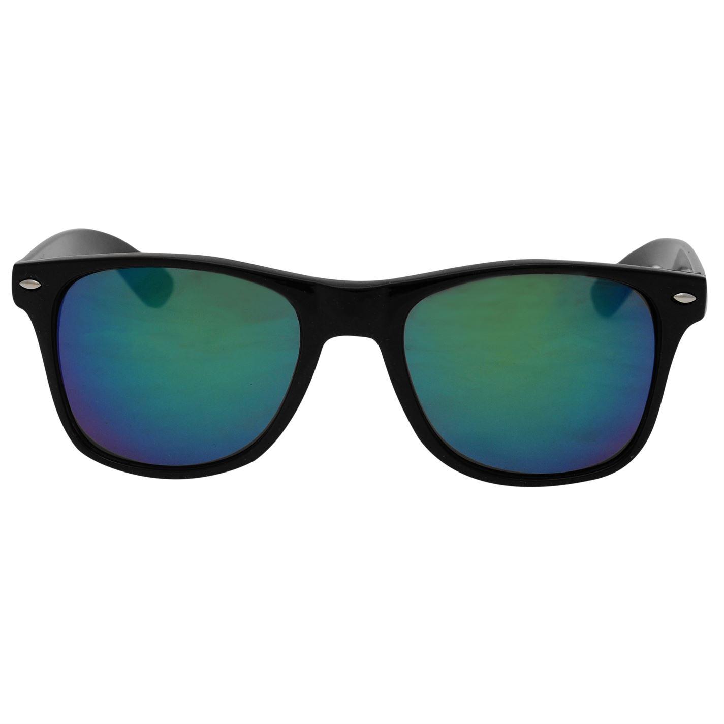 Pulp Iridescent Sunglasses Mens Gents Summer PLASTIC FRAME Tinted Lens
