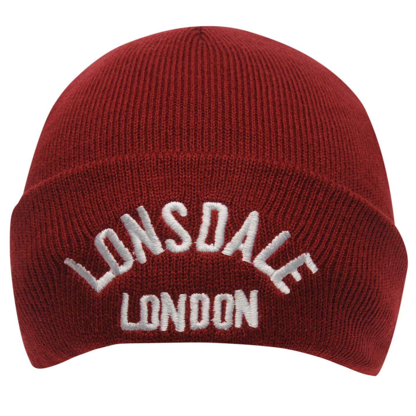 Lonsdale Logo Beanie 81 Unisex