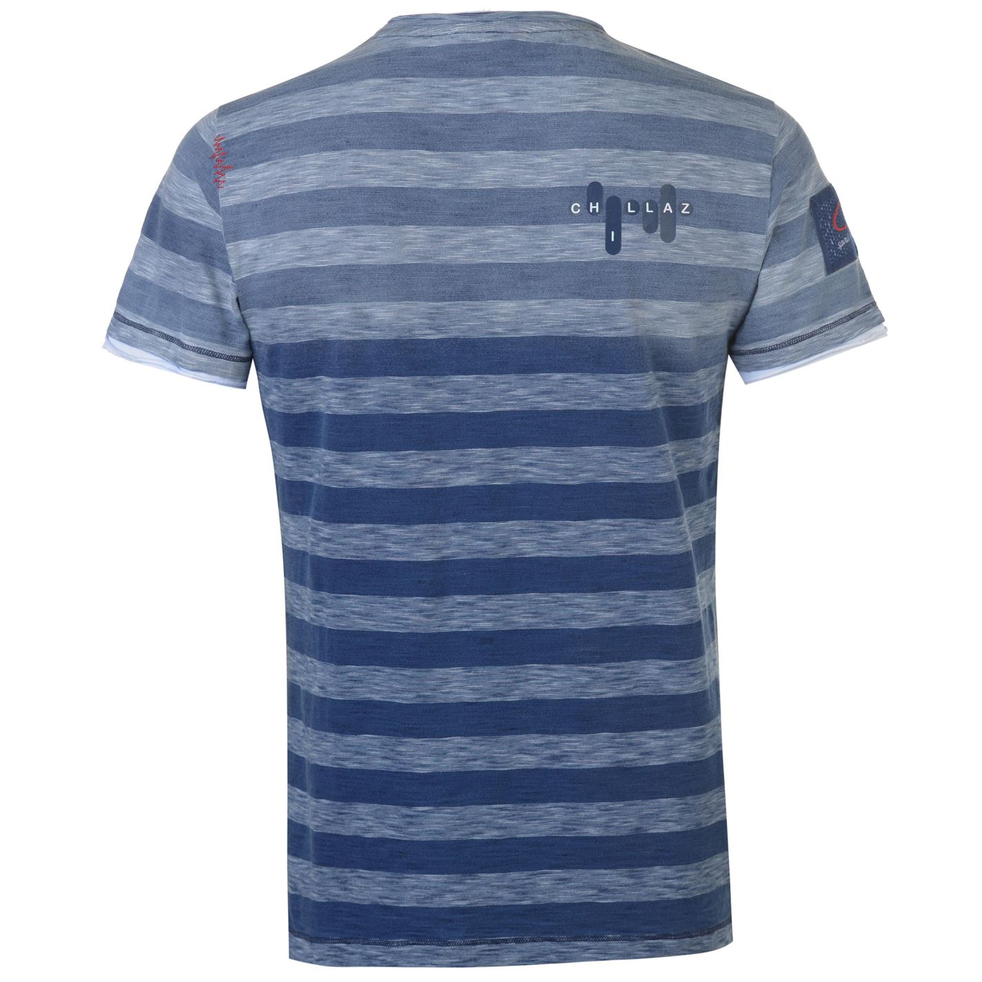 Chillaz Circled T Shirt Mens Gents Short Sleeve Performance Tee Top Crew Neck