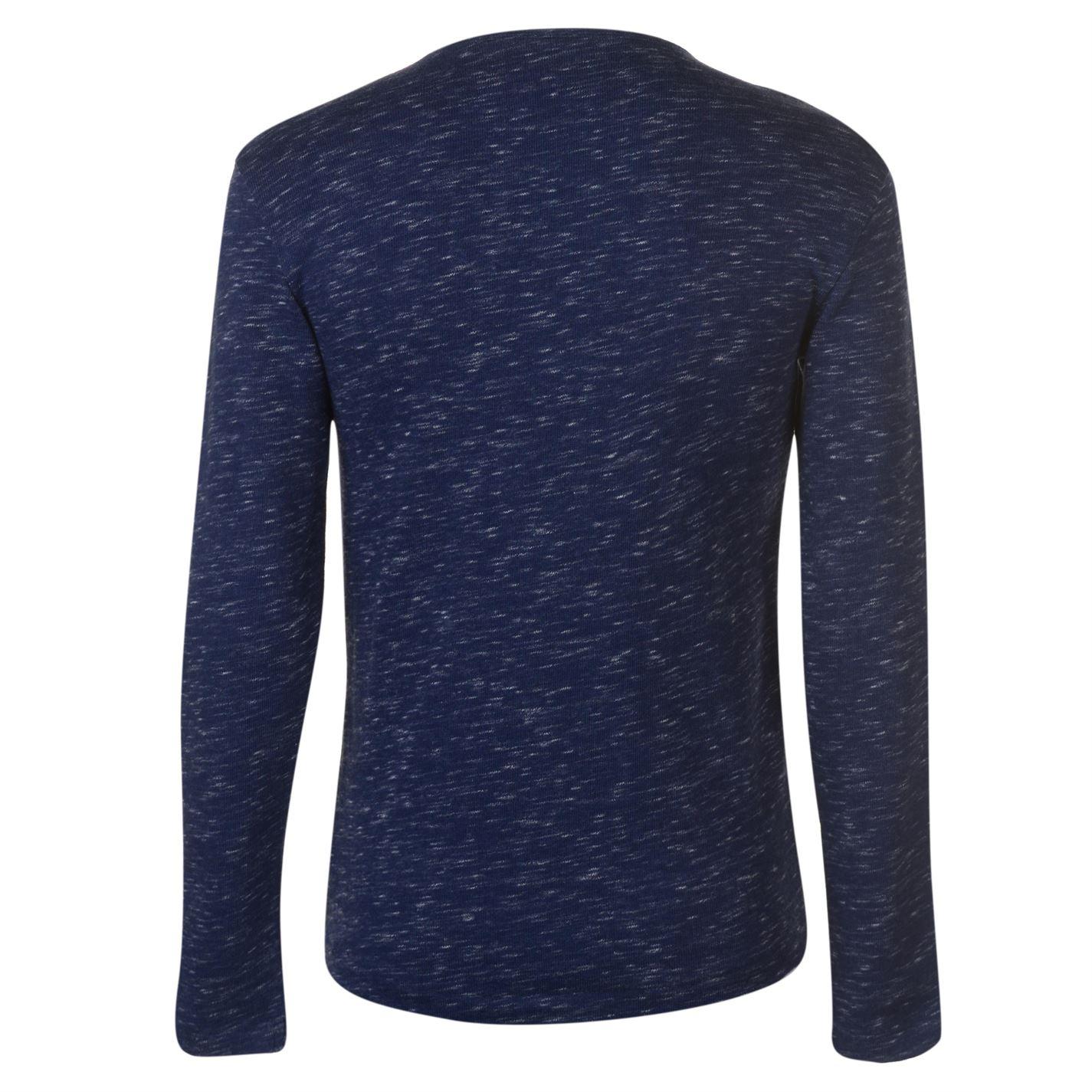 G Star Mens Xauri Granddad Collar Sweater Crew Jumper Pullover Long Sleeve