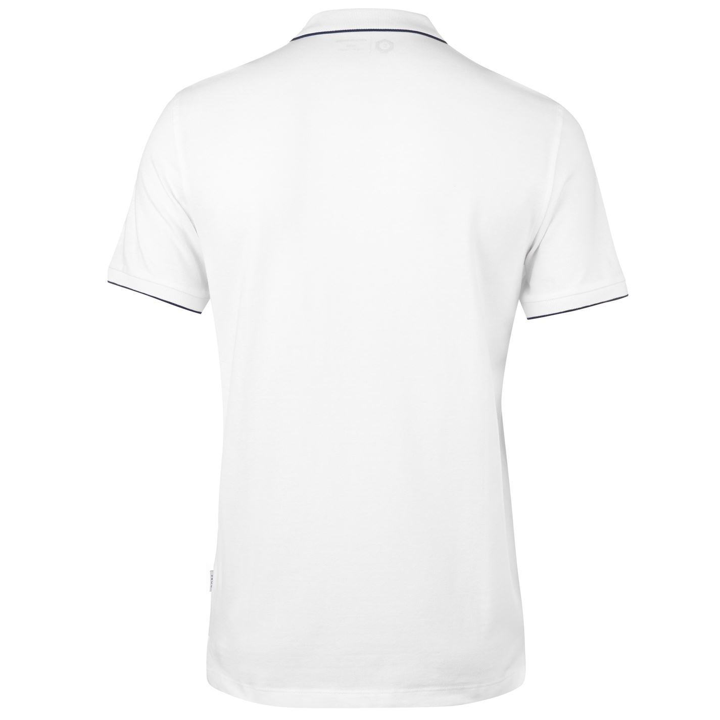 JACK and Jones Core Heritage Polo Uomo Gents Slim Fit Tee Top Manica Corta