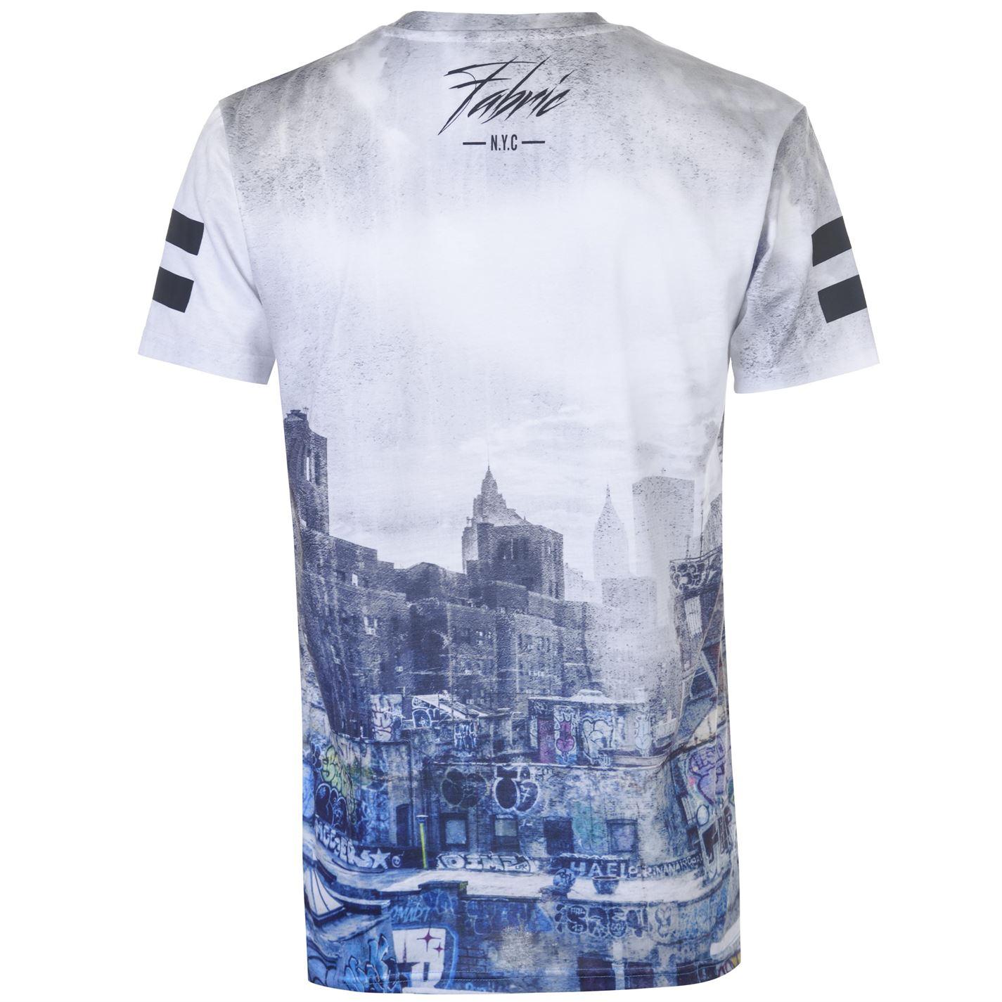 Tissu Sublimation T Shirt Homme Homme À Encolure Ras-Du-Cou Tee Top à manches courtes classic fit