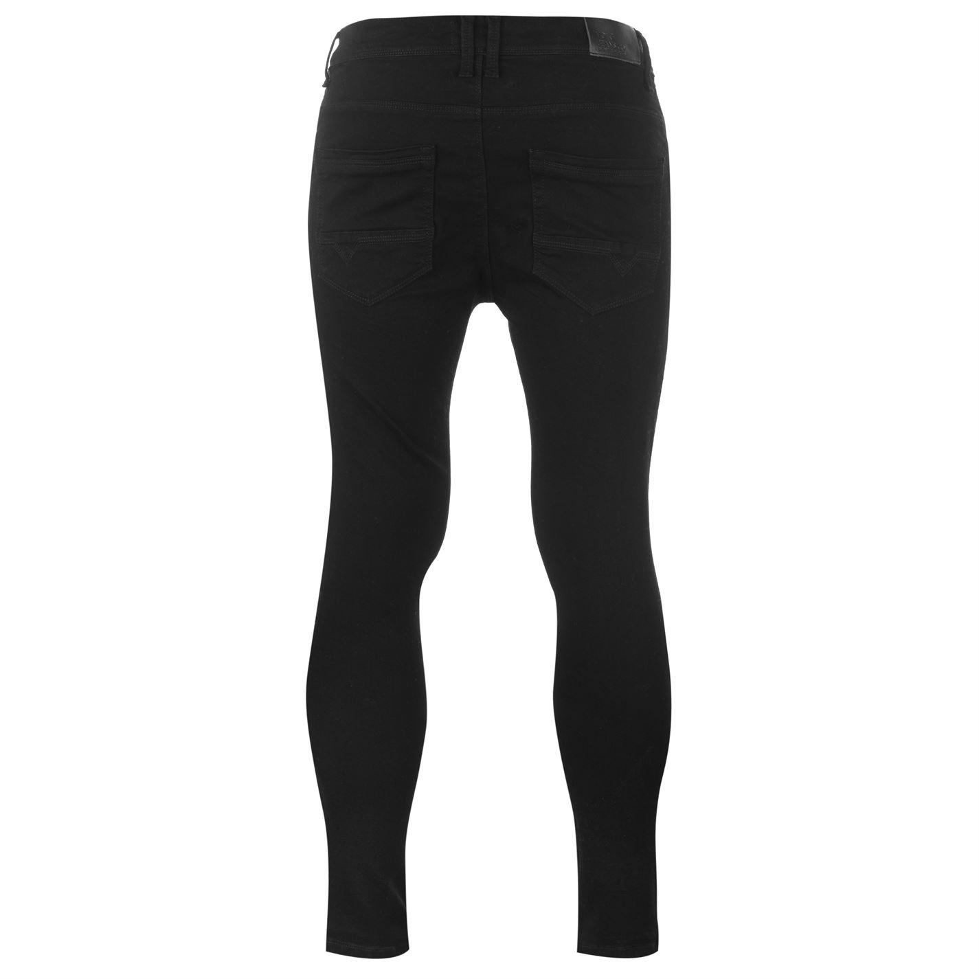 Voi pulverizeronskinnystr S84 Hommes Gents Skinny Jeans Pantalon Pantalon