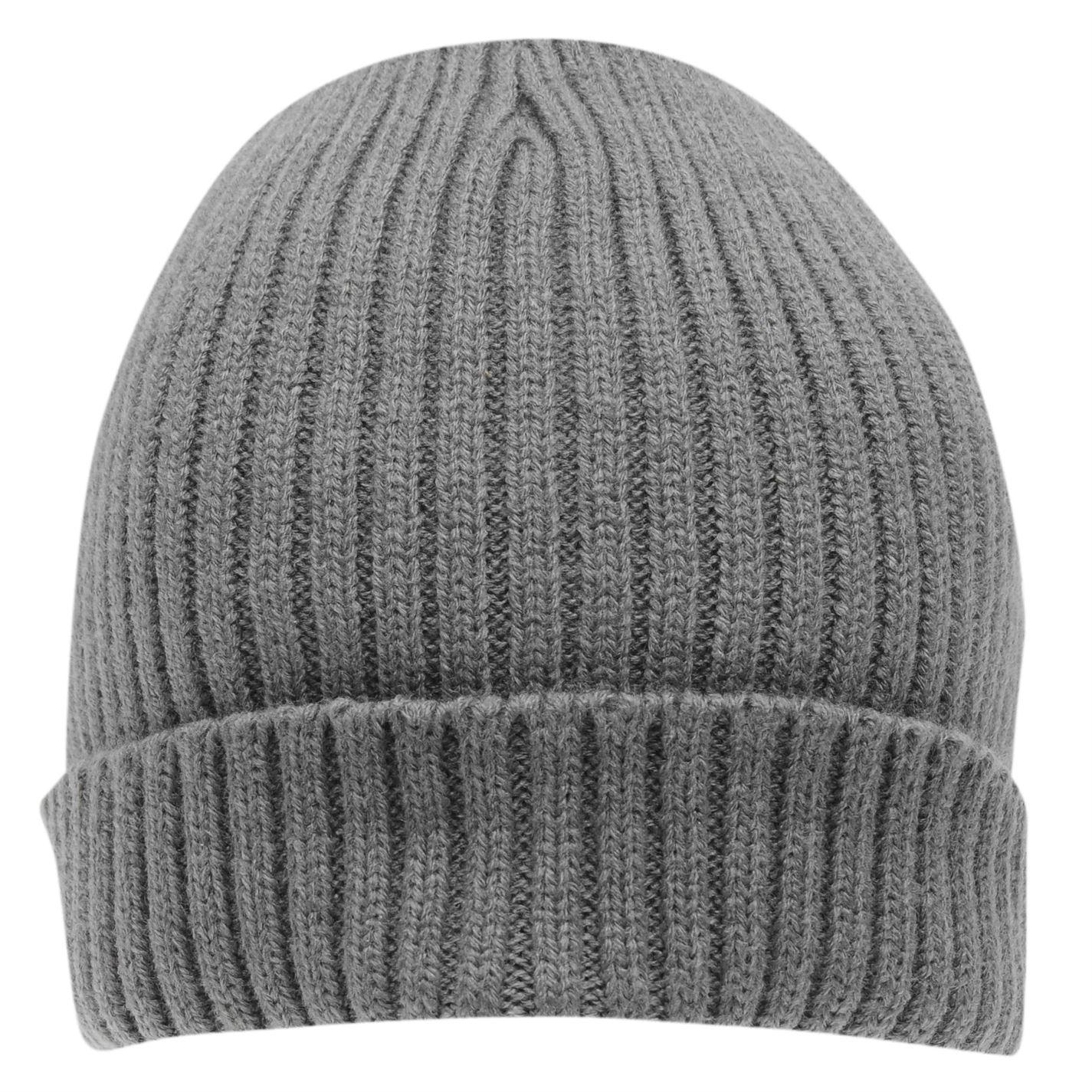 SoulCal Slouch Hat Mens Gents Beanie Knitwear