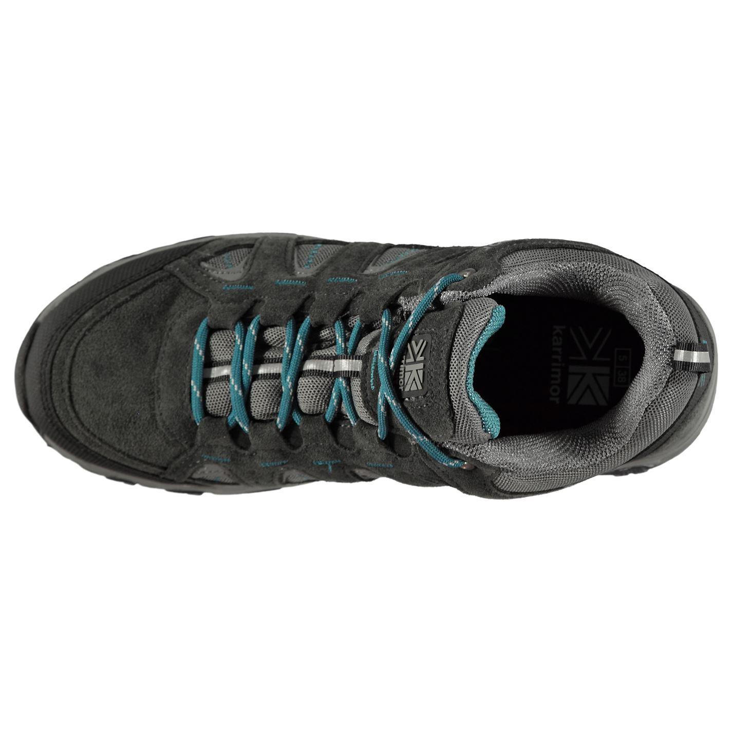 Karrimor Kids Mount Low Junior Walking Shoes Waterproof Lace Up Breathable