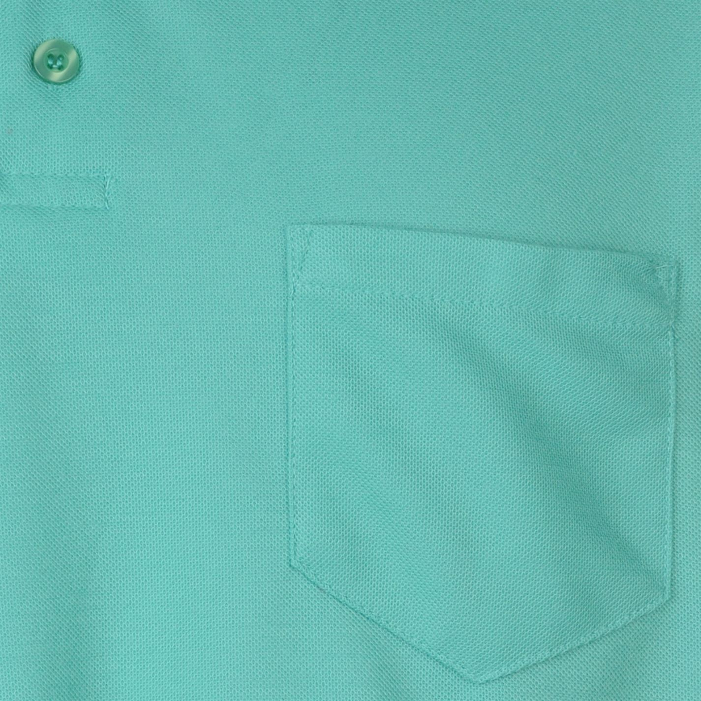Donnay Mens Pocket Polo Shirt Classic Fit Tee Top Short Sleeve Button Placket
