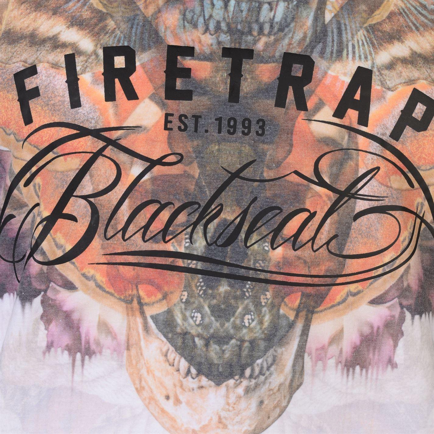 Firetrap Moth Gilet Homme Gents Muscle Tank Top