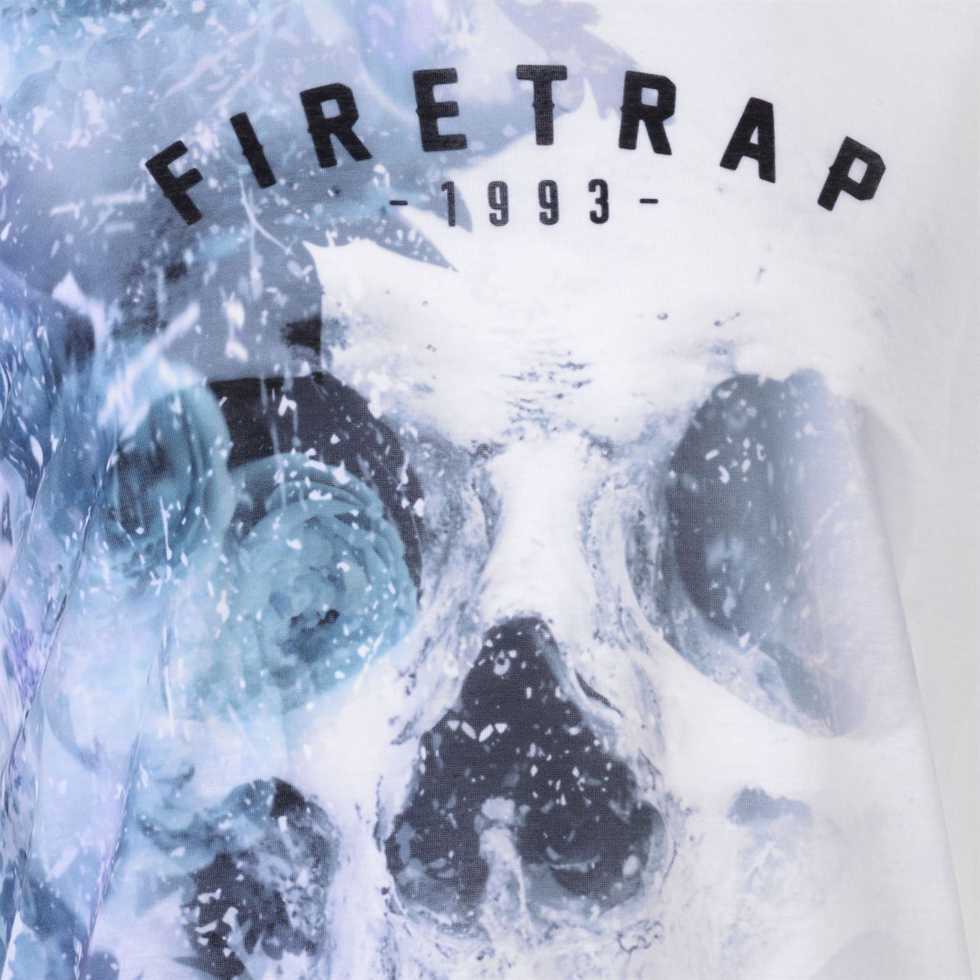 Firetrap Sub T Shirt Mens Gents Crew Neck Tee Top Short Sleeve Round Lightweight