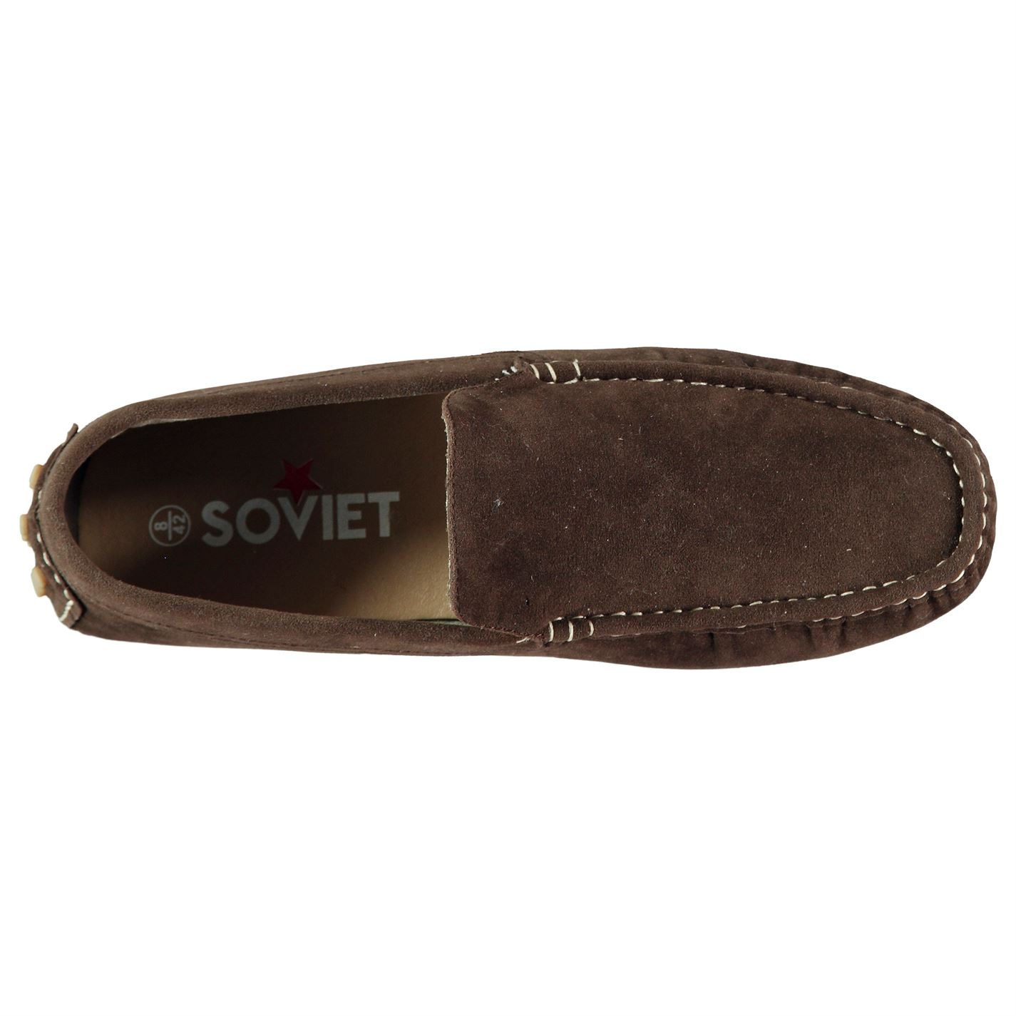 Soviet Driver Syn Mens Gents Loafers
