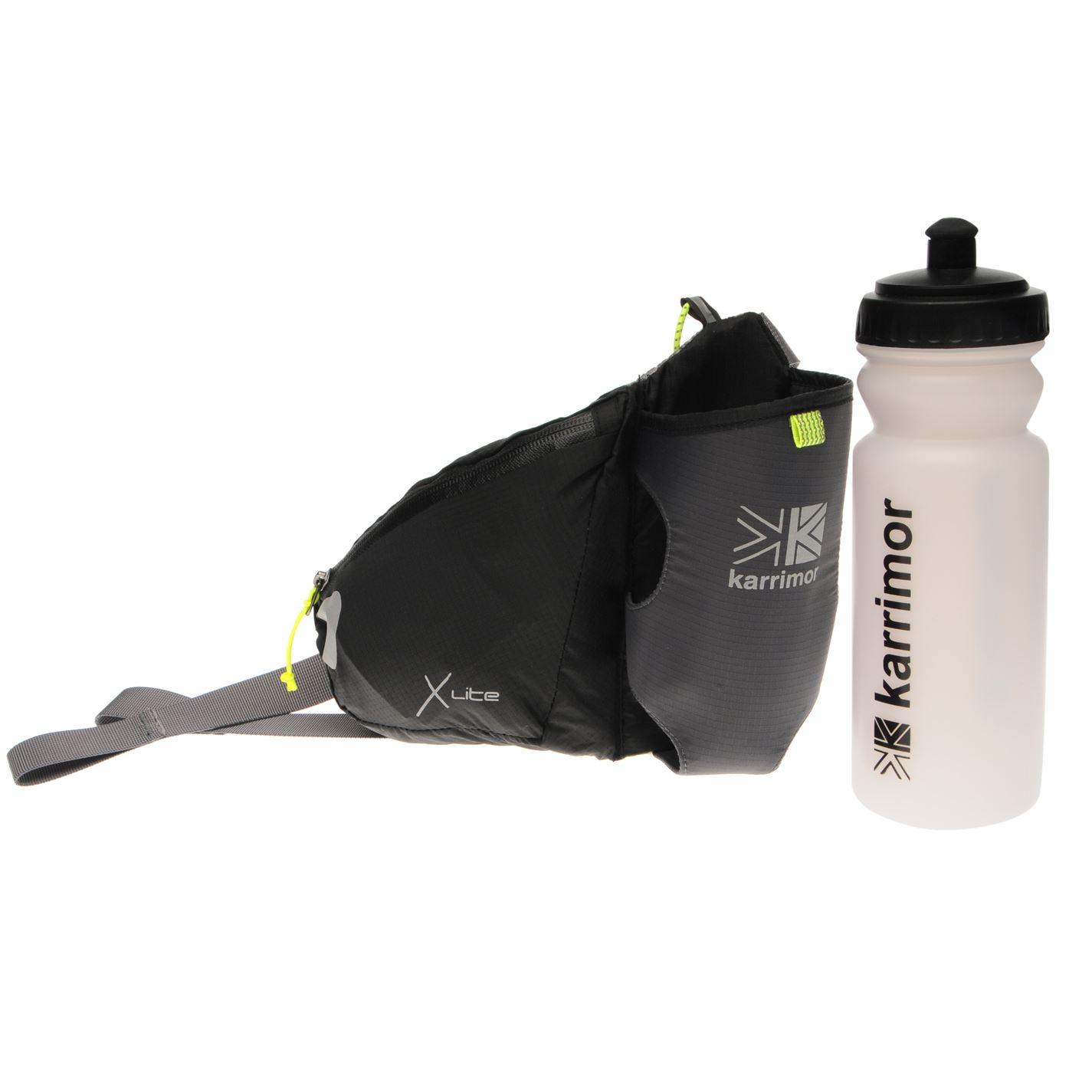 Karrimor X Lite Jogging Cintura BOTTIGLIA visibilità elastico accessorio di formazione