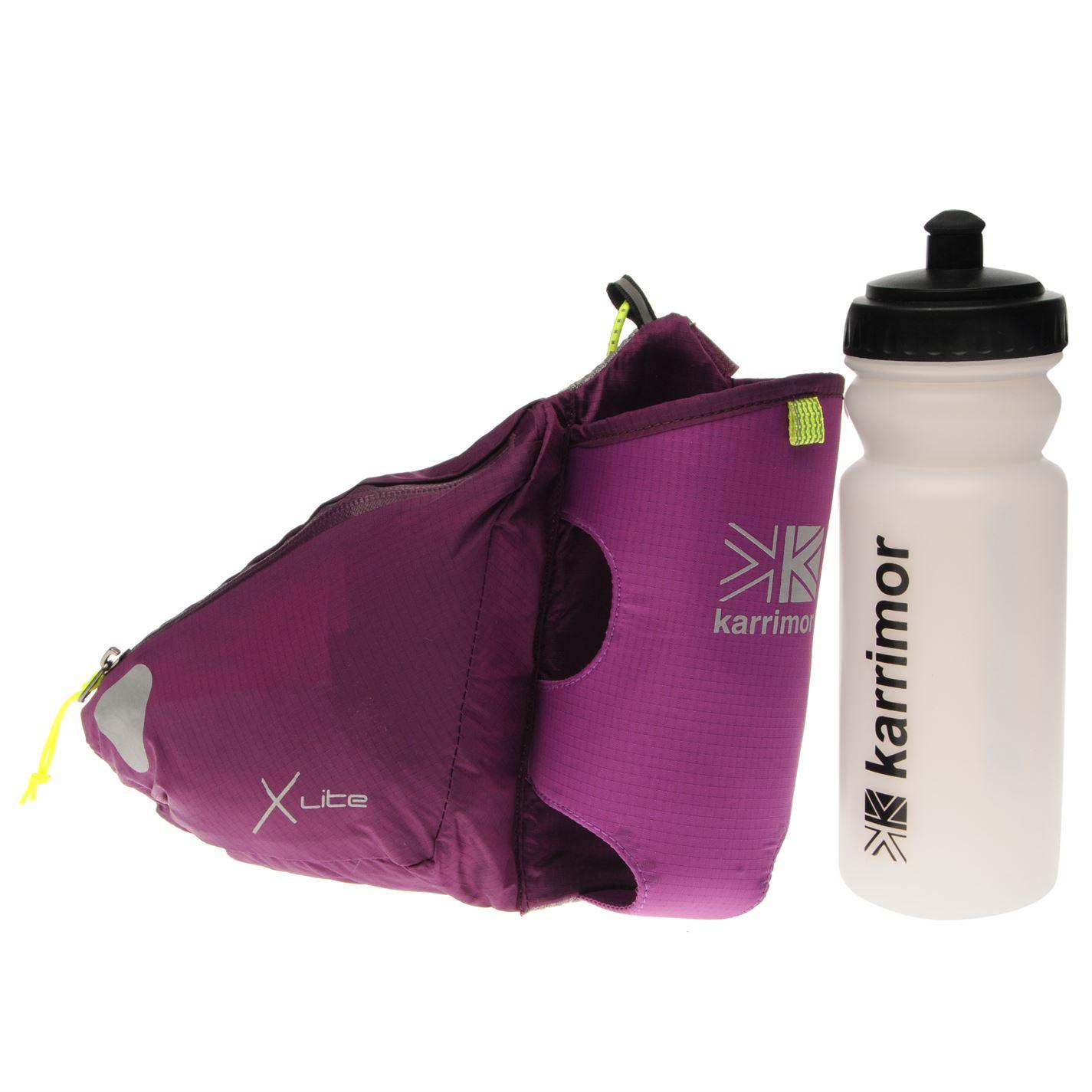 Karrimor X Lite Jogging Belt Bottle Visibility Stretchy Training Accessory