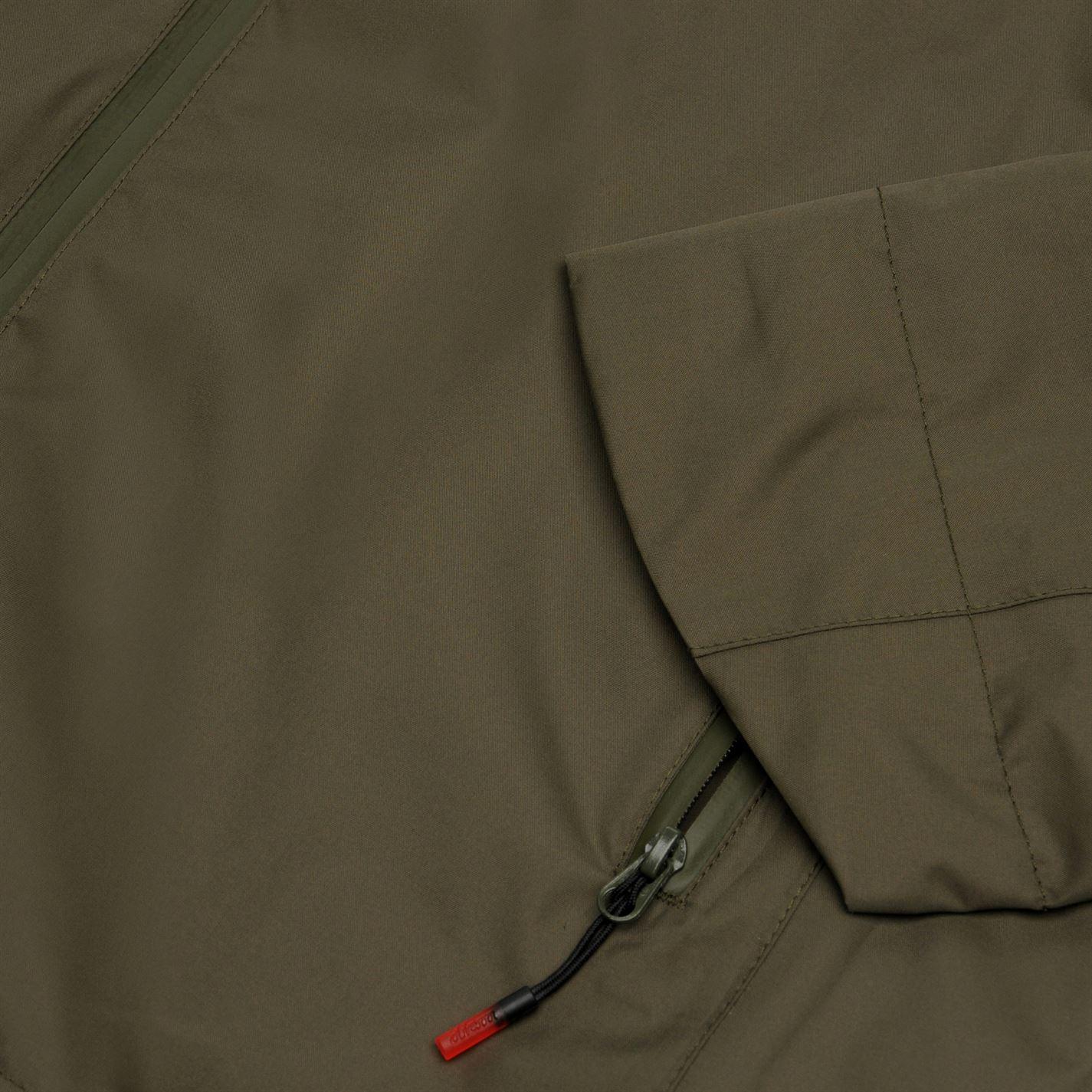 Giacca da uomo Diem litetech con cappuccio full zip manica lunga cappotto top da pesca