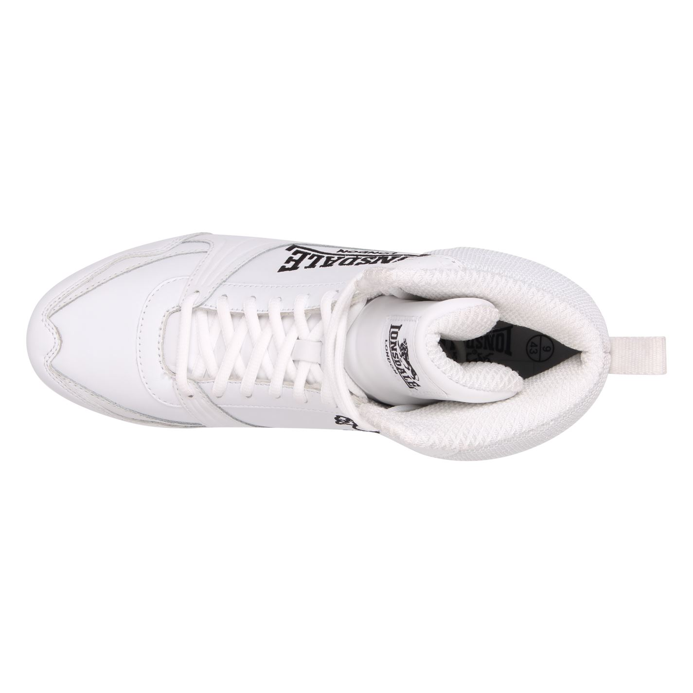 Lonsdale Mens Boxing Boots Training Lace Up Sport Shoes Trainers Footwear