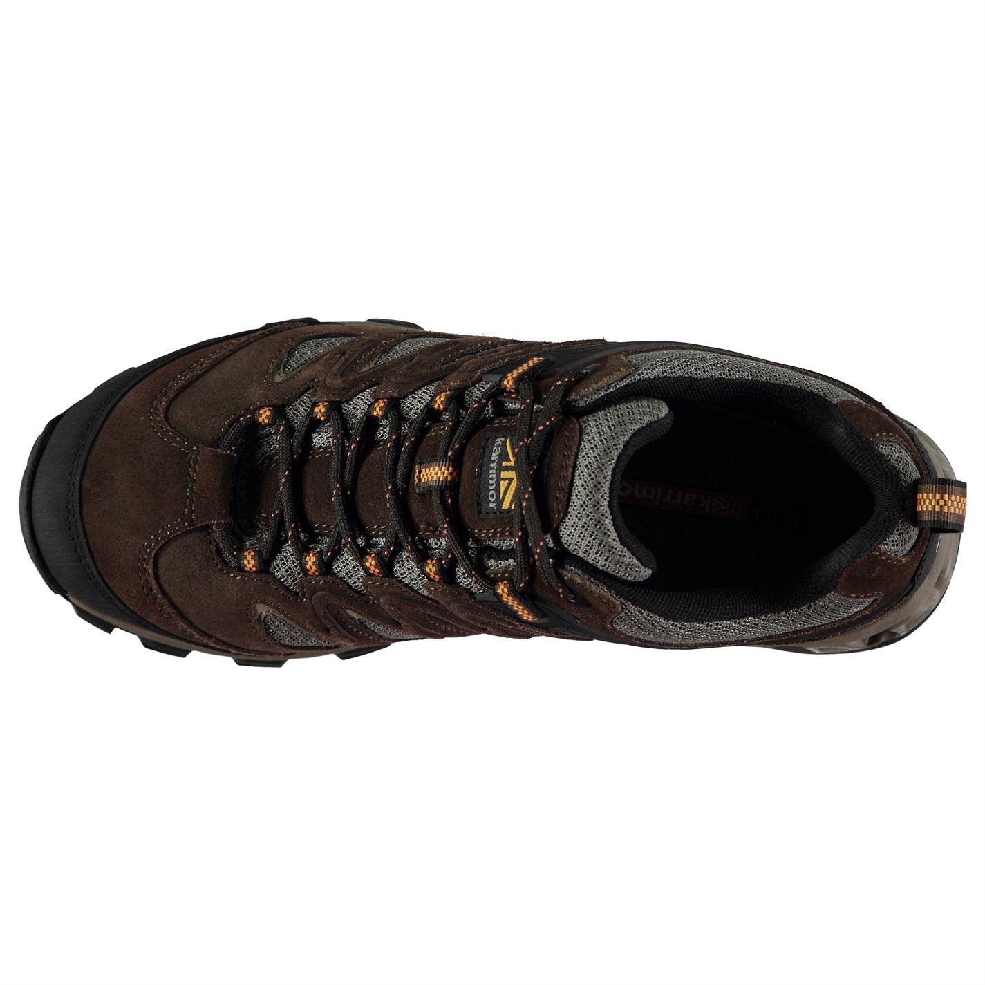 Karrimor Mens Merlin Low Walking Shoes Waterproof Lace Up Breathable Comfortable